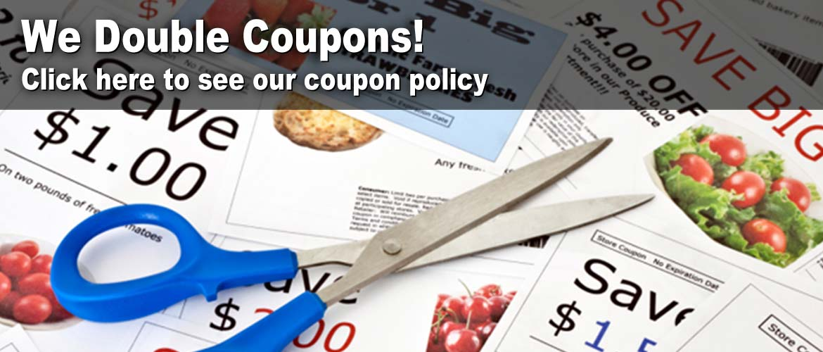 Raleys double coupon policy