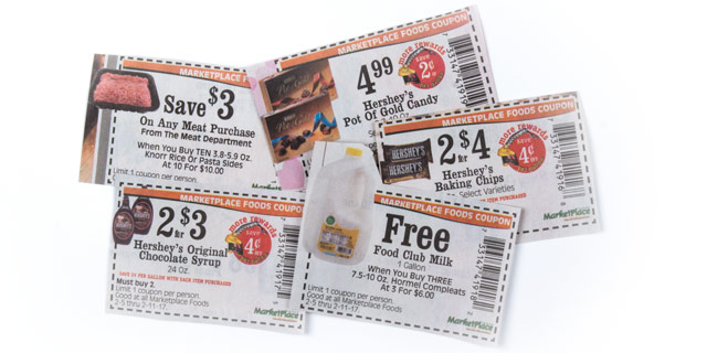 Buy Manufacturer Coupons >> Marketplace Foods Coupon Policy