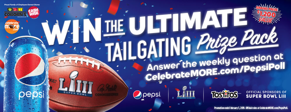 Win the Ultimate Tailgating Package!