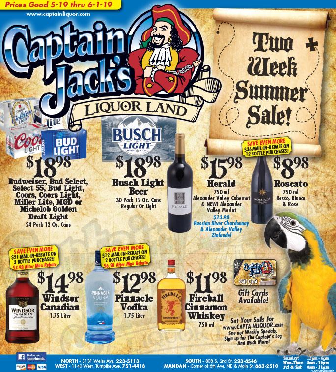 Captain Jack's Liquor Land