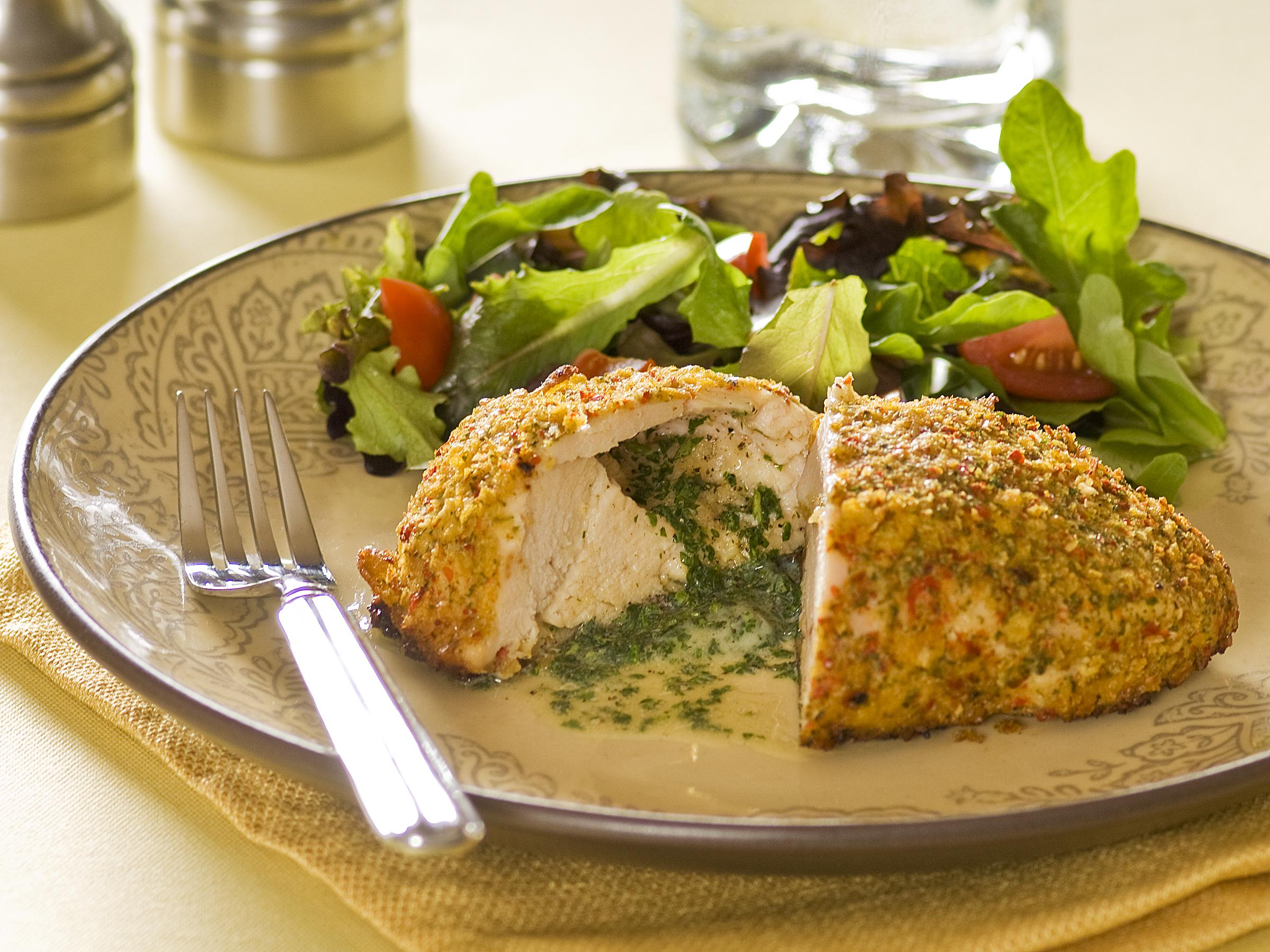 Oven Chicken Kiev Rated Save To My Recipe Box